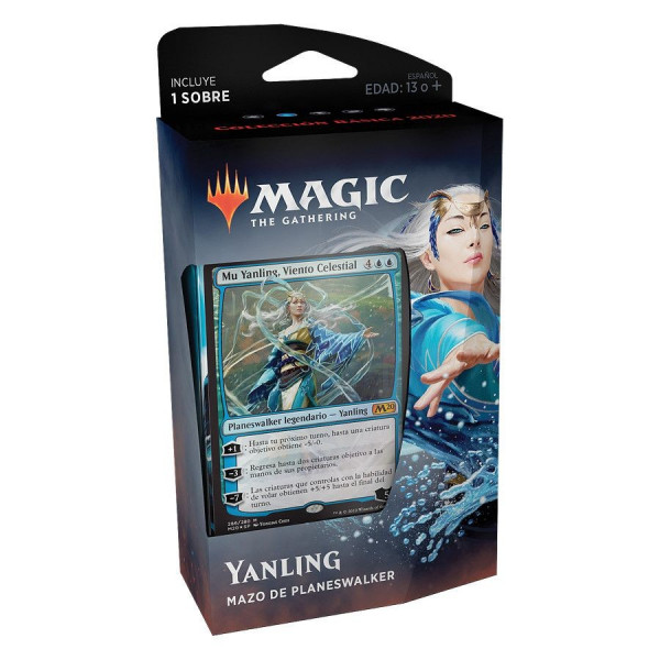 MAGIC - MAZO DE PLANESWAKER YANLING. COLECCION BASICA 2020