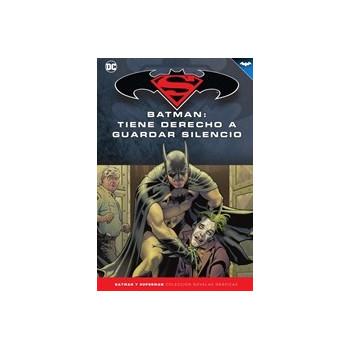 BATMAN Y SUPERMAN - COLECCION NOVELAS GRAFICAS 69: BATMAN: TIENE DERECHO A GUARDAR SILENCIO