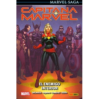 CAPITANA MARVEL 03: EL ENEMIGO INTERIOR (MARVEL SAGA 87)