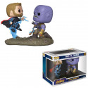 FUNKO POP! MOVIE MOMENTS 707 THOR VS. THANOS. VENGADORES INFINITY WAR