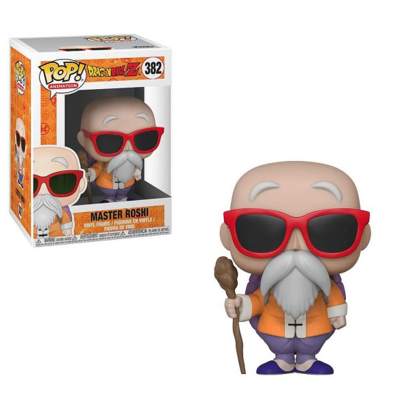 FUNKO POP! 382 MASTER ROSHI. DRAGON BALL Z