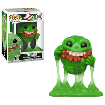 FUNKO POP! 747 SLIMER & HOT DOGS (MOQUETE). CAZAFANTASMAS