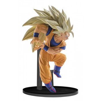 ESTATUA GOKU SUPER SAIYAN 3 SCULTURES BIG BUDOKAI 6 VOL.6 PVC 13 cm. DRAGON BALL SUPER