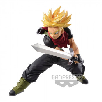 ESTATUA SUPER SAIYAN TRUNKS FUTURE TRANSCENDENCE ART PVC 14 cm. SUPER DRAGON BALL HEROES