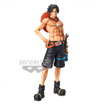 ESTATUA PORTGAS D. ACE THE GRANDLINE MEN GRANDISTA PVC 28 cm. ONE PIECE