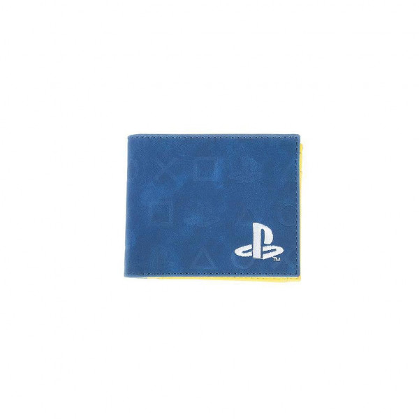 BILLETERA ICONOS Y LOGO PLAYSTATION. SONY