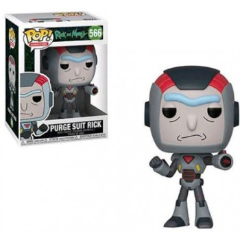 FUNKO POP! 566 PURGE SUIT RICK. RICK & MORTY