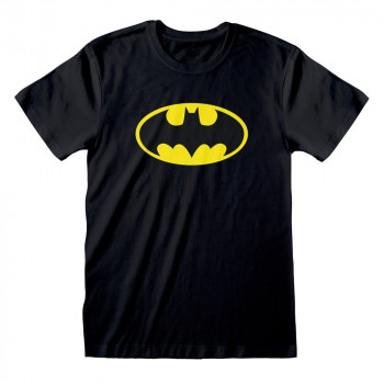 CAMISETA TALLA XL. LOGO BATMAN. DC COMICS