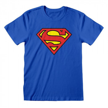 CAMISETA TALLA L. LOGO SUPERMAN. DC COMICS