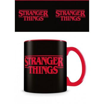 TAZA LOGO. STRANGER THINGS