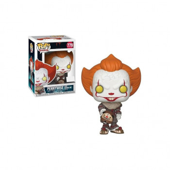 FUNKO POP! 779 PENNYWISE WITH BEAVER HAT. IT 2 (STEPHEN KING)