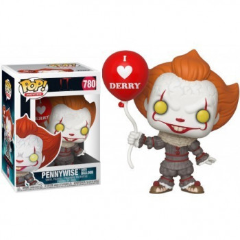 FUNKO POP! 780 PENNYWISE WITH BALLOON. IT 2 (STEPHEN KING)