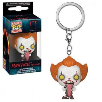 FUNKO POCKET POP! LLAVERO PENNYWISE FUNHOUSE. IT 2 (STEPHEN KING)