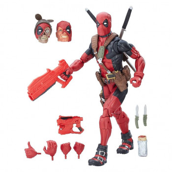FIGURA DEADPOOL MARVEL LEGENDS SELECT 2017 30 cm. MARVEL