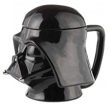 TAZA 3D DARTH VADER CERAMICA. STAR WARS