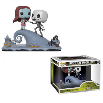 FUNKO POP! MOVIE MOMENTS 458 JACK SKELLINGTON & SALLY UNDER THE MOONLIGHT. PESADILLA ANTES DE NAVIDAD