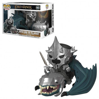 FUNKO POP! 63 WITCH KING ON FELLBEAST. EL SEÑOR DE LOS ANILLOS