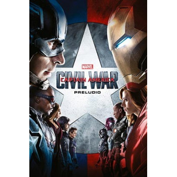 MARVEL CINEMATIC COLLECTION 07. CAPITAN AMERICA: CIVIL WAR - PRELUDIO