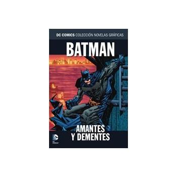 COLECCION NOVELAS GRAFICAS 93: BATMAN: AMANTES Y DEMENTES
