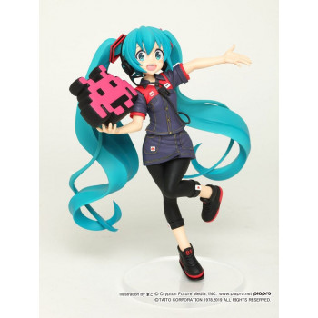 ESTATUA HATSUNE MIKU TAITO UNIFORM VERSION 2 PVC 18 cm. VOCALOID