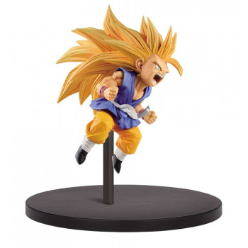 ESTATUA SON GOKU SUPER SAIYAN 3 FES PVC 10 cm. DRAGON BALL SUPER