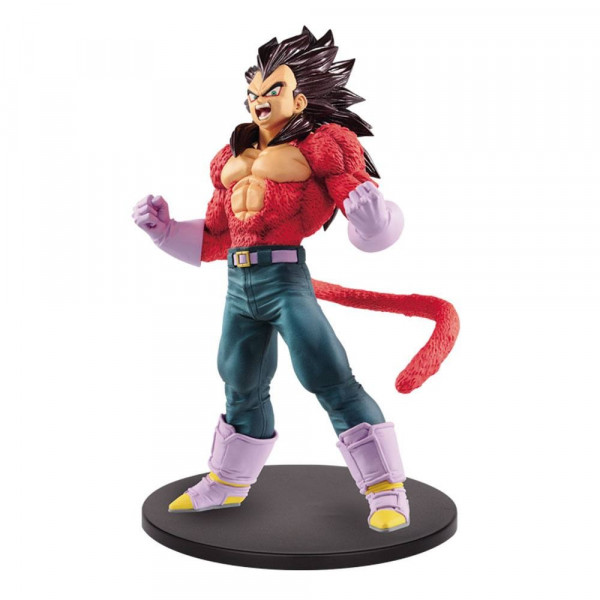 ESTATUA VEGETA SUPER SAIYAN 4 METALLIC HAIR COLOR BLOOD OF SAIYANS PVC 20 cm. DRAGON BALL GT