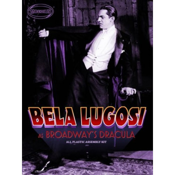 KIT DE CONSTRUCCION BELA LUGOSI AS BROADWAY'S DRACULA ALL PLASTIC ASSEMBLY KIT (OFERTA)