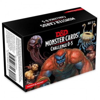 MONSTER CARDS CHALLENGE 0-5...