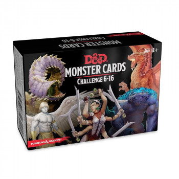 MONSTER CARDS CHALLENGE...
