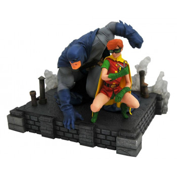 ESTATUA BATMAN & ROBIN DIAMOND SELECT DC COMIC GALLERY PVC 20 cm. THE DARK KNIGHT RETURNS