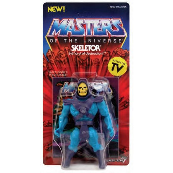 FIGURA SKELETOR WAVE 1 VINTAGE COLLECTION 14 cm. MASTERS OF THE UNIVERSE
