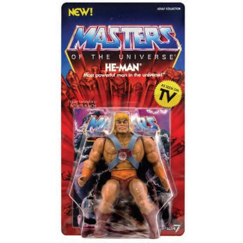 FIGURA HE-MAN WAVE 1 VINTAGE COLLECTION 14 cm. MASTERS OF THE UNIVERSE