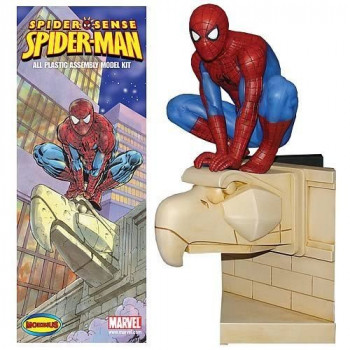 SPIDERMAN SPIDER SENSE MOEBIUS ALL PLASTIC ASSEMBLY MODEL KIT (OFERTA)