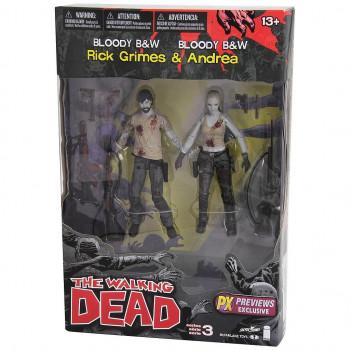 RICK GRIMES & ANDREA PACK 2...