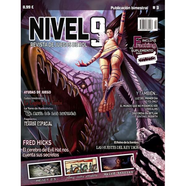 NIVEL 9 REVISTA DE JUEGOS DE ROL 03