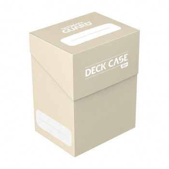 BEIGE DECK CASE 80+ CAJA DE...
