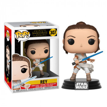 FUNKO POP! 307 REY. STAR WARS