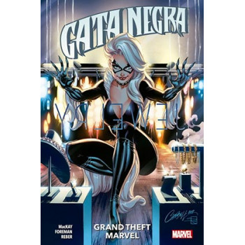 GATA NEGRA 01: GRAND THEFT...