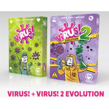 PACK VIRUS! + VIRUS! 2...