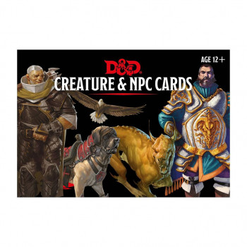 CREATURE & NPC CARDS -...