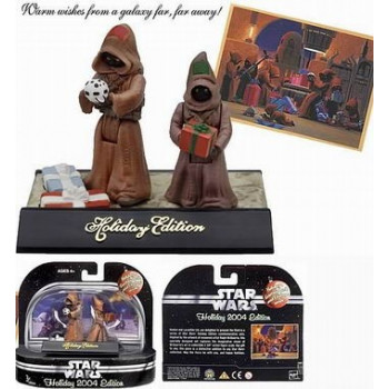 PACK FIGURAS JAWAS HOLIDAY EDITION 2004. STAR WARS