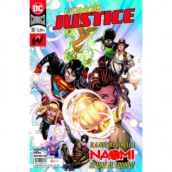 YOUNG JUSTICE 10
