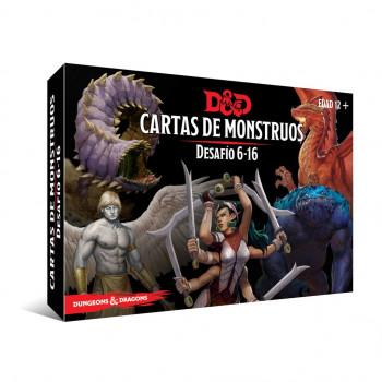 CARTAS DE MONSTRUOS....