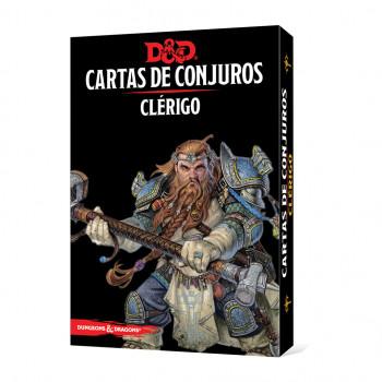 CARTAS DE CONJUROS: CLÉRIGO...