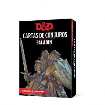 CARTAS DE CONJUROS: PALADÍN...