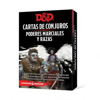 CARTAS DE CONJUROS: PODERES...