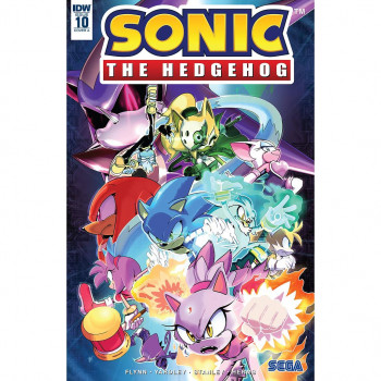 SONIC THE HEDGEHOG 10