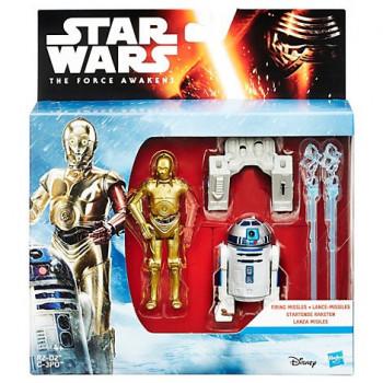 R2-D2 Y C3-PO LANZA MISILES...