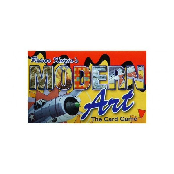 MODERN ART - JUEGO DE CARTAS