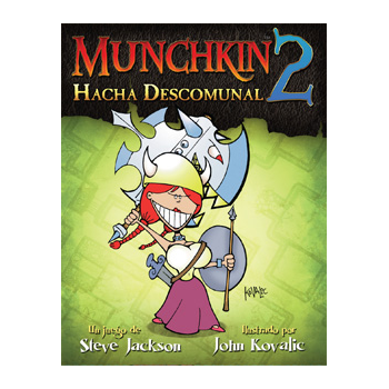 MUNCHKIN2: HACHA DESCOMUNAL